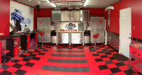 Garage Floor Tile Limitations