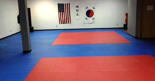 garage martial arts studio