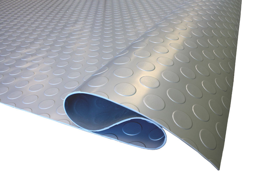 Coin Nitro Rolls - Roll Out Vinyl Garage Flooring